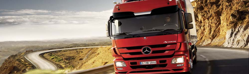 Trucking - prompt delivery of goods to the addressee